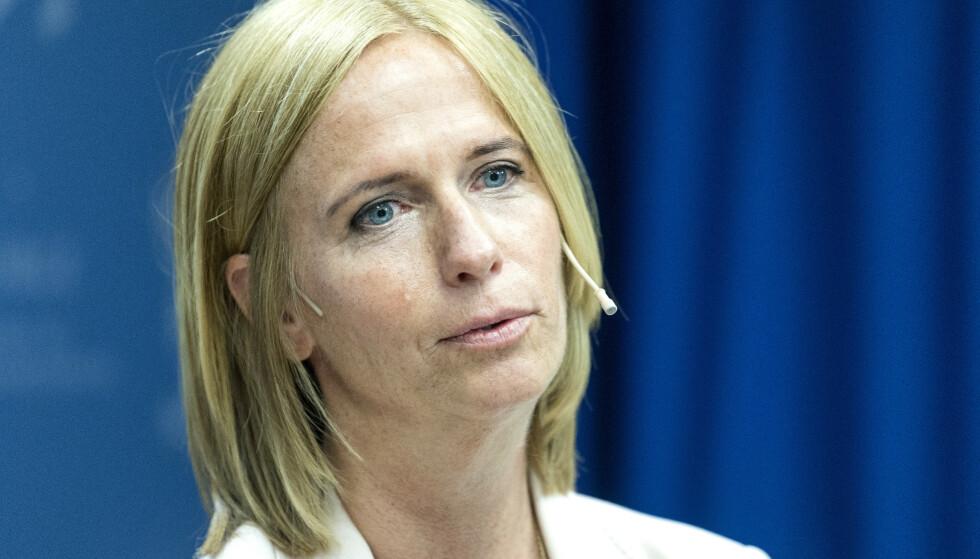 BEKYMRET FOR DE UNGE: Barneombud Inga Bejer Engh. Foto: Gorm Kallestad / NTB