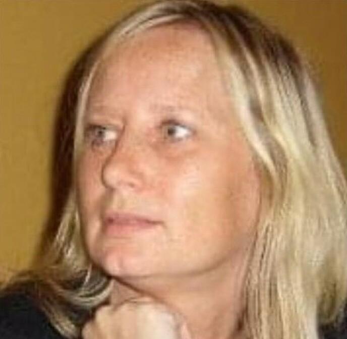SAVNET: Ann-Mari Olsen-Næristorp (50) er savnet etter raset. Foto: Privat/ med tillatelse fra familien