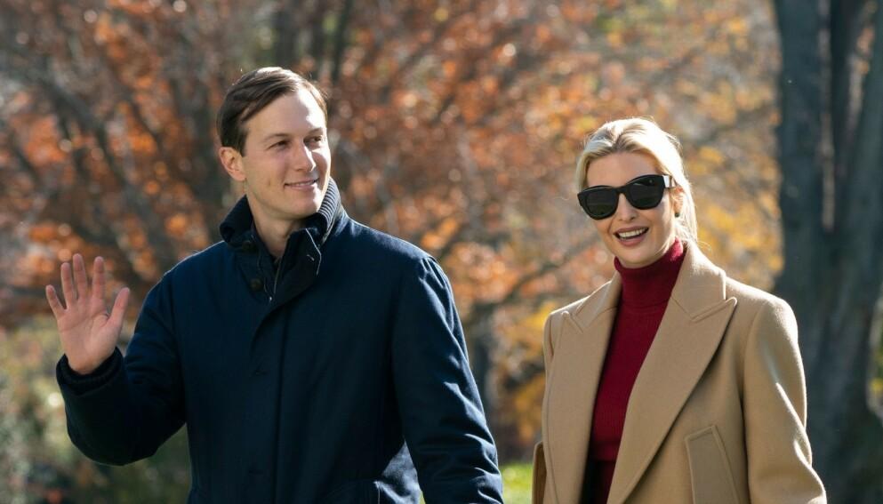 DO-KRITIKK: Ifølge Washington Post skal Jared Kushner og Ivanka Trump ha nektet Secret Servide å låne toalettet. Foto: Shutterstock / NTB