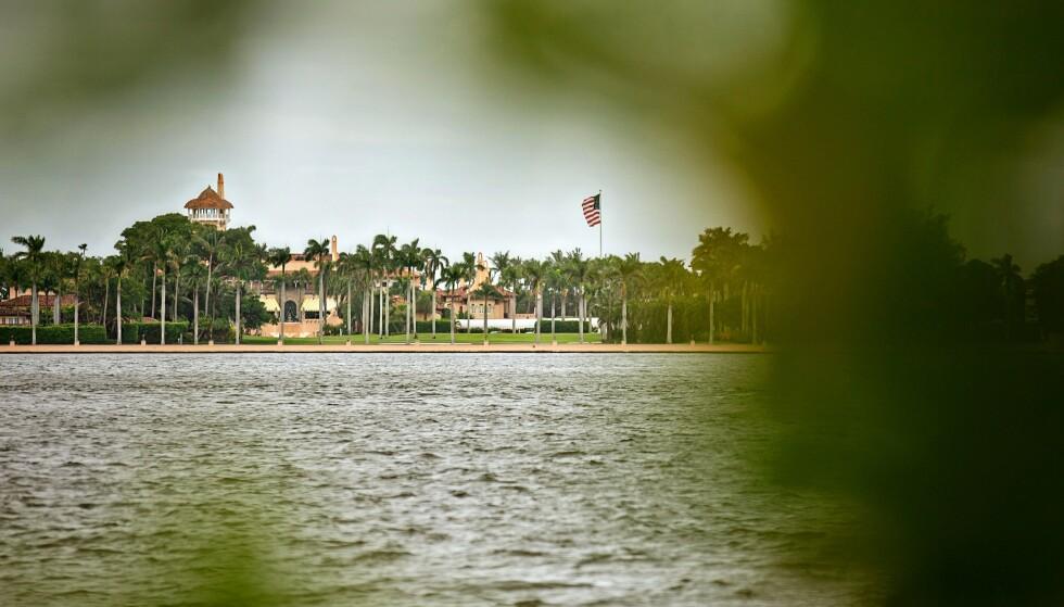 TRUMPS PRIVATE KLUBB:: Mar-a-Lago var et gigantisk herskapshus som Trump gjorde om til en privat klubb i Palm Beach. Foto: Jason Armond / Los Angeles Times / NTB.