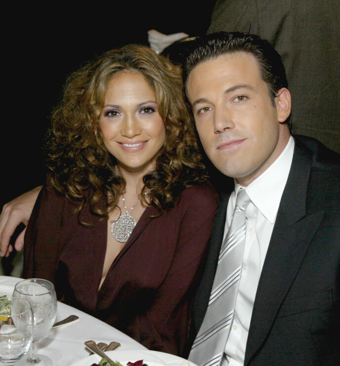 EKSPAR: Jennifer Lopez og Ben Affleck var et av Hollywoods største stjernepar fra 2002 til 2004. Her i 2003. Foto: Shutterstock Editorial / REX / NTB