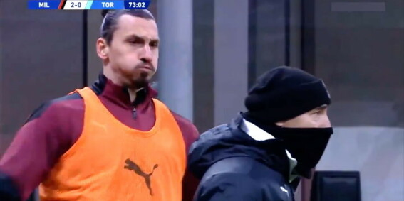 Image: Zlatan sjokkerer på oppvarming: - Helt ekstremt