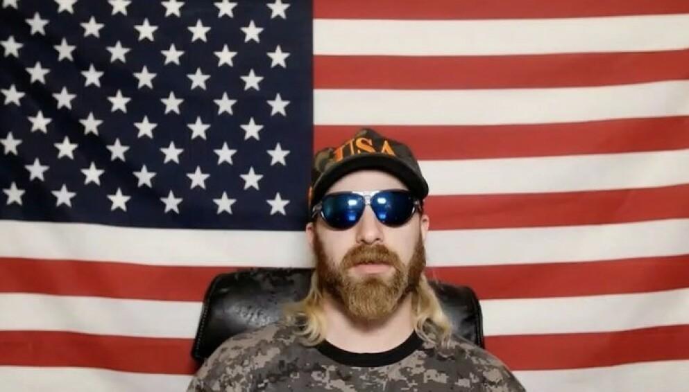 PÅGREPET: Youtuber og høyresideaktivist Tim Gionet er kjent som Baked Alaska på nett. Foto: Baked Alaska