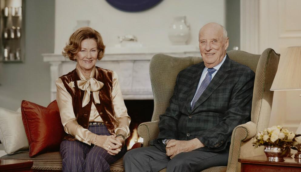 30 ÅR SOM KONGEPAR: Kong Harald og Dronning Sonja har vært landets kongepar i 30 år. Foto: Jørgen Gomnæs / Det kongelige hoff