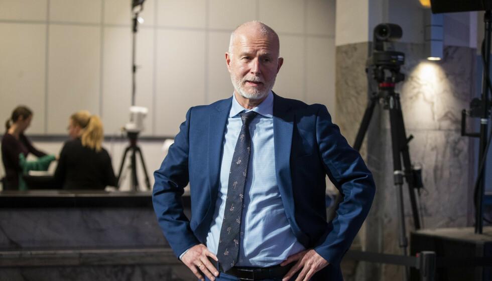 ANBEFALINGER: Helsedirektoratet, her ved direktør Bjørn Guldvog, har gitt nye anbefalinger til regjeringen. Foto: Terje Pedersen / NTB