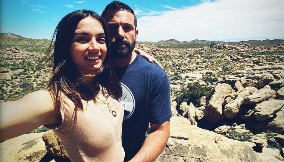 - BRUDD: Ben Affleck og Ana de Armas skal ha gått hver til sitt. Foto: ana_d_armas / Instagram