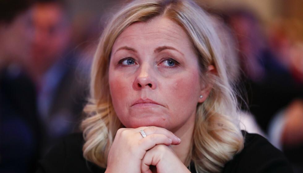 STÅR PÅ SITT: Partisekretær i Arbeiderpartiet Kjersti Stenseng vil ikke gå med på at de sprer usannheter. Foto: Terje Pedersen / NTB