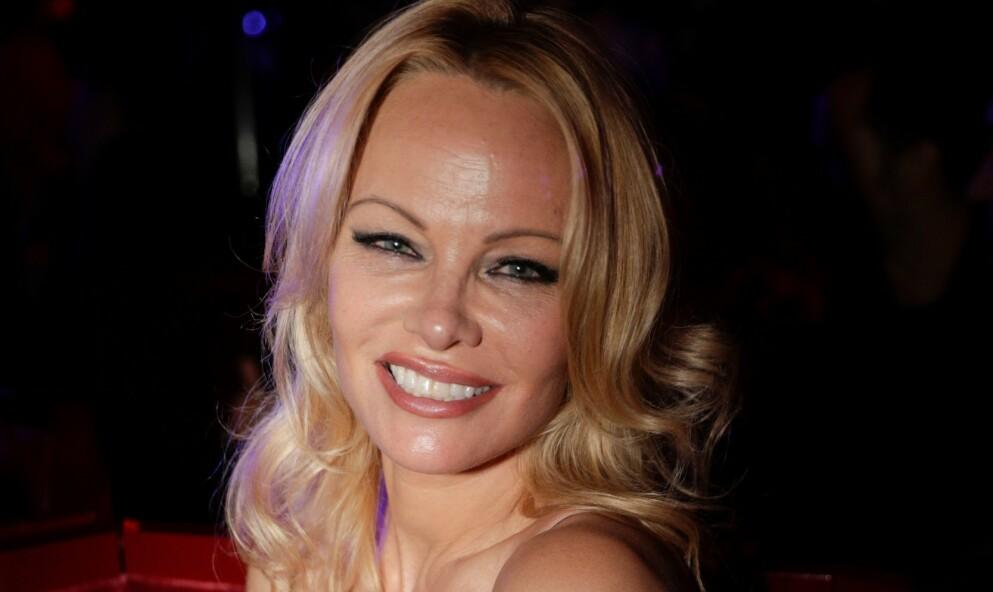FÅR OPPMERKSOMHET: Pamela Anderson mener at veganere er bedre sexpartnere. Foto: Geoffroy Van Der Hasselt / AFP / NTB