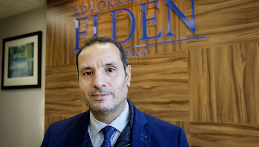 FRYKT: Bistandsadvokat Farid Bouras frykter for sikkerheten til dødsdømte Saad Jidre, etter at hans lokale advokat ble overfalt i dag. Foto: Henning Lillegård / Dagbladet