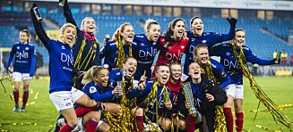 Slik spilles Toppserien 2021