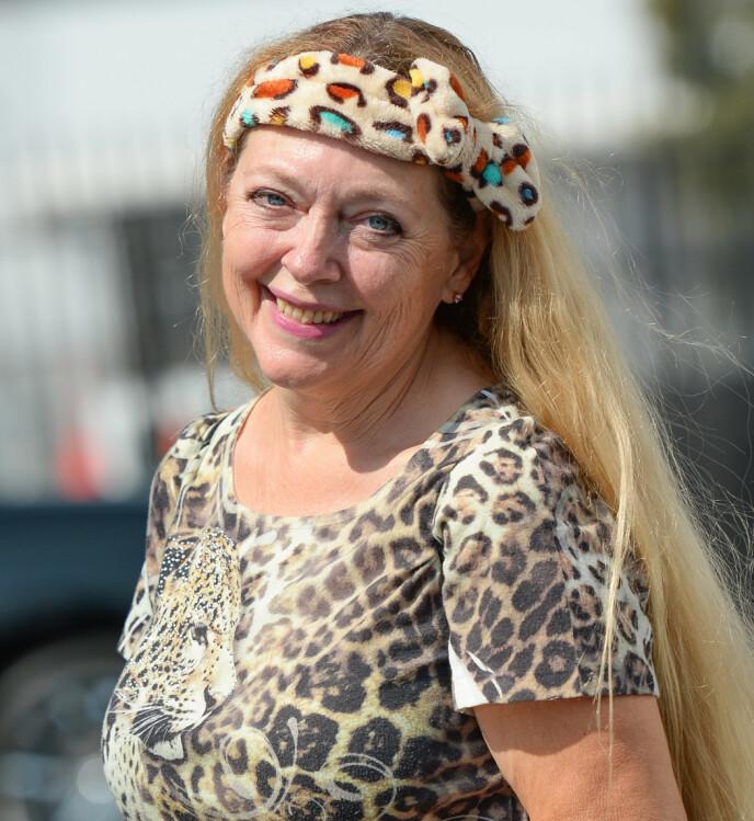 FORNØYD: Carole Baskin legger ikke skjul på at hun er svært takknemlig for at Joe Exotic ikke ble benådet. Foto: Shutterstock Editorial / NTB