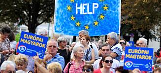 EU har vært i overkant naive