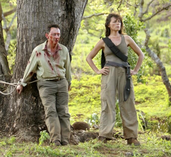 «Lost»: Mira Furlan hadde en rolle i «Lost». Her med motspiller Michael Emerson. Foto: Snap Stills / REX / NTB