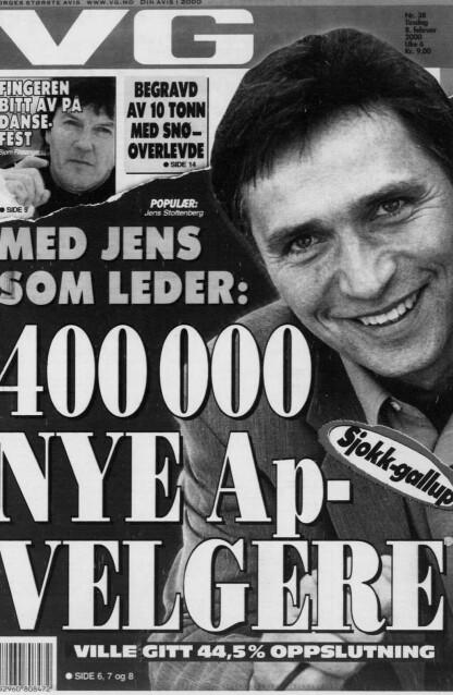 ANGRET: Nils Vibe sier han har angret på at han slapp gjennom målingen som ga dette oppslaget. Faksimile: VG