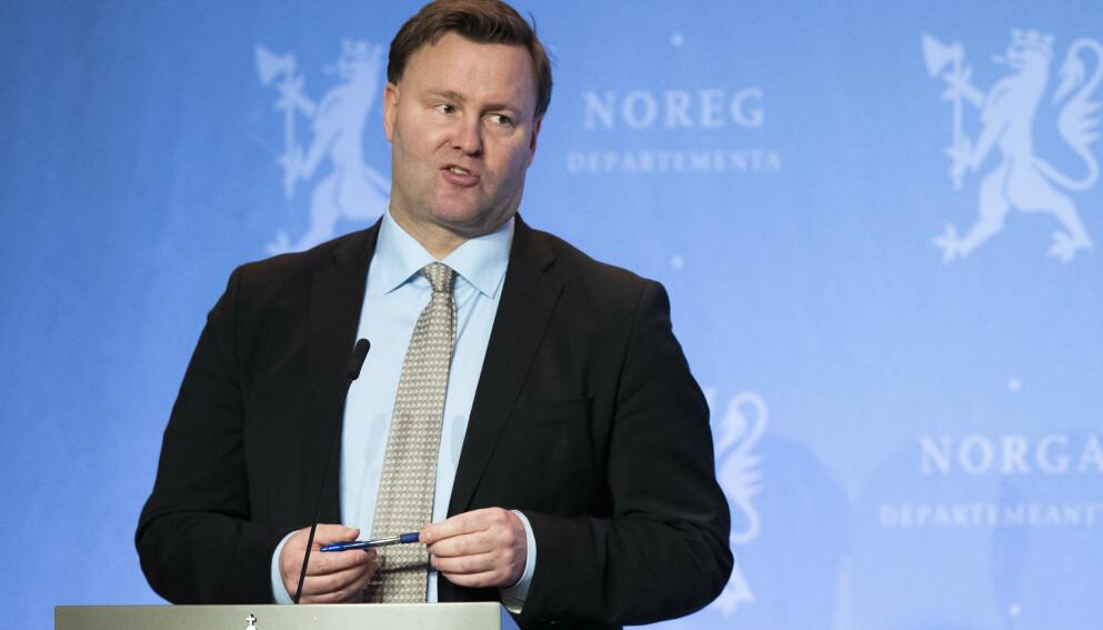 KOMMER MED ANBEFALING: Assisterende helsedirektør Espen Rostrup Nakstad. Foto: Berit Roald / NTB