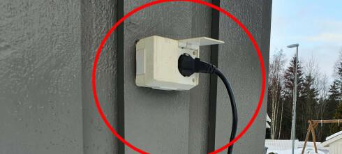 Detteøker faren for elektrisk sjokk og brann