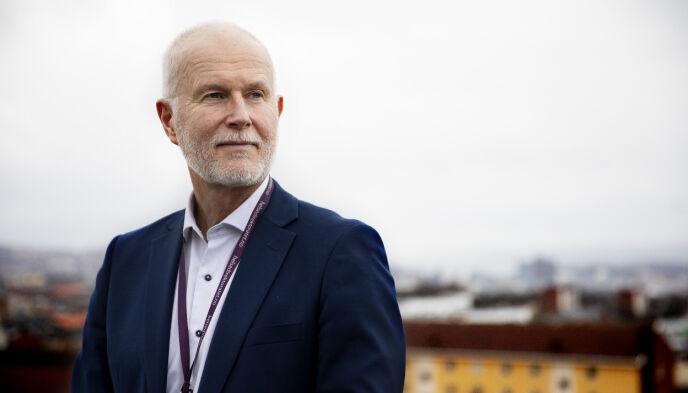 TAKK: Guldvog har mange han vil takke for innsatsen: befolkningen, kommunene, helsevesenet og justissektoren. Foto: Kristin Svorte / Dagbladet