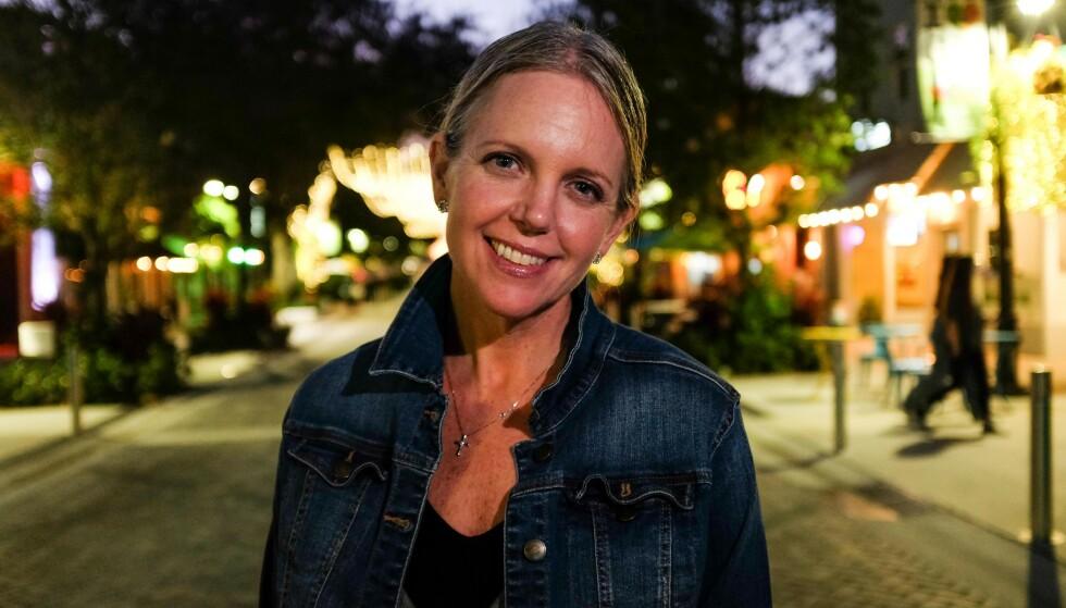 FRYKTER: Den demokratiske lokalpolitikeren Melissa McKinlay er svært bekymret for hva Donald Trump vil bringe med seg til Palm Beach i Florida. Foto: Jesper Nordahl Finsveen / Dagbladet