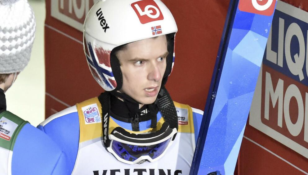 BEST I VERDEN: Halvor Egner Granerud. Foto: Jussi Nukari / NTB