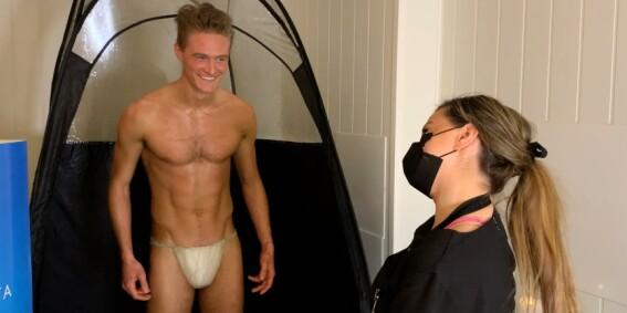 Image: NRK-kommentar endte i nakenstunt