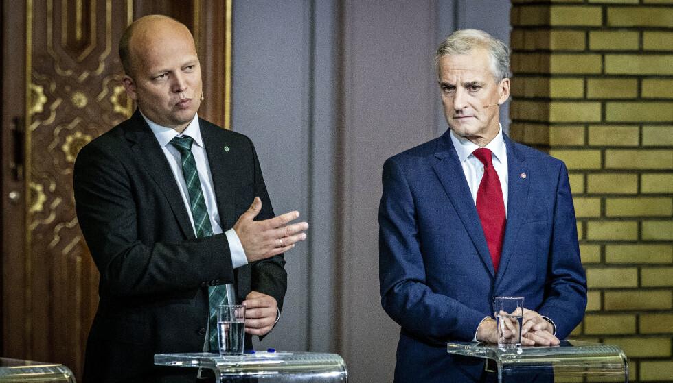 NORD-NORGE: Jonas Gahr Støre holder døra åpen for at Alta kan ble en del av Troms. Senterpartiet mener dette i så fall må søkes om i etterkant av oppløsninga i nord. Foto: Bjørn Langsem / Dagbladet
