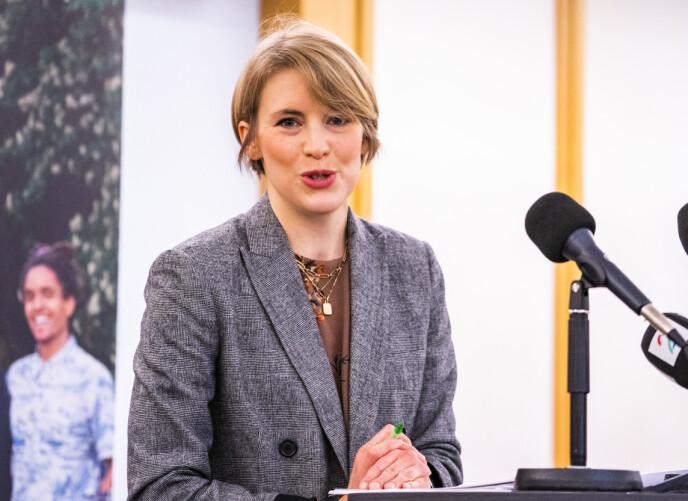 STATSRÅD?: En av SVs statsrådsemner er finanspolitisk talsperson Kari Elisabeth Kaski. Foto: Håkon Mosvold Larsen / NTB