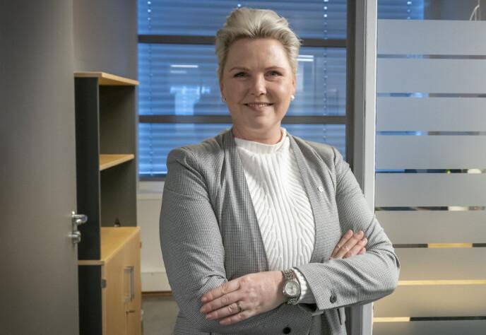 STATSRÅD: Nestleder og fylkesråd for klima og miljø i Viken, Anne Beathe Kristiansen Tvinnereim, kan bli bistandsminister. Hun kan være aktuell også på andre poster. Foto: Heiko Junge / NTB