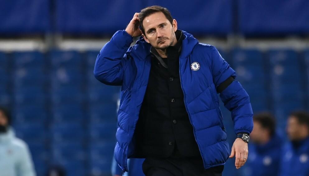FERDIG: Klubbelgende Frank Lampard er ferdig som manager i Chelsea. Foto: Andy Rain / POOL / AFP / NTB