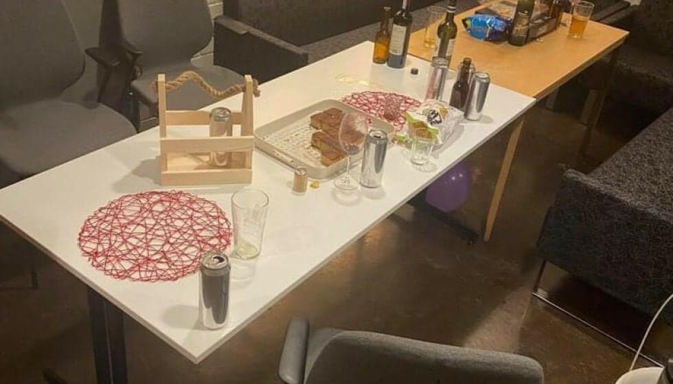 VARTE: Deltakerne forlot festen rundt klokka 03 natt til søndag, skriver VOL. Foto: Vesterålen Online
