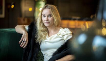 - SOM TRUMP: Sofia Helin sammenligner kritikken av Atlantic Crossing med Donald Trumps retorikk. Foto: Heiko Junge / NTB