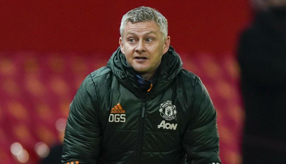 NEDTUR: Ole Gunnar Solskjær fikk ikke mye å juble for mot Sheffield United. Foto: NTB