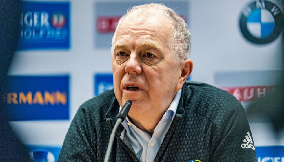 REAGERER KRAFTIG: Nåværende president Olle Dahlin. Foto: NTB