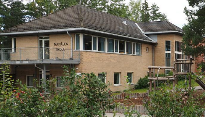 UTBRUDD: Kommunen mistenker at et utbrudd på Tårnåsen skole er det muterte viruset. Foto: Nordre Follo kommune.