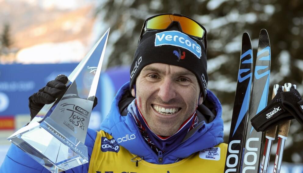 RASER: maurice Manificat er ikke fornøyd med å bli nektet deltakelse i Falun. Foto: AP Photo/Alessandro Trovati