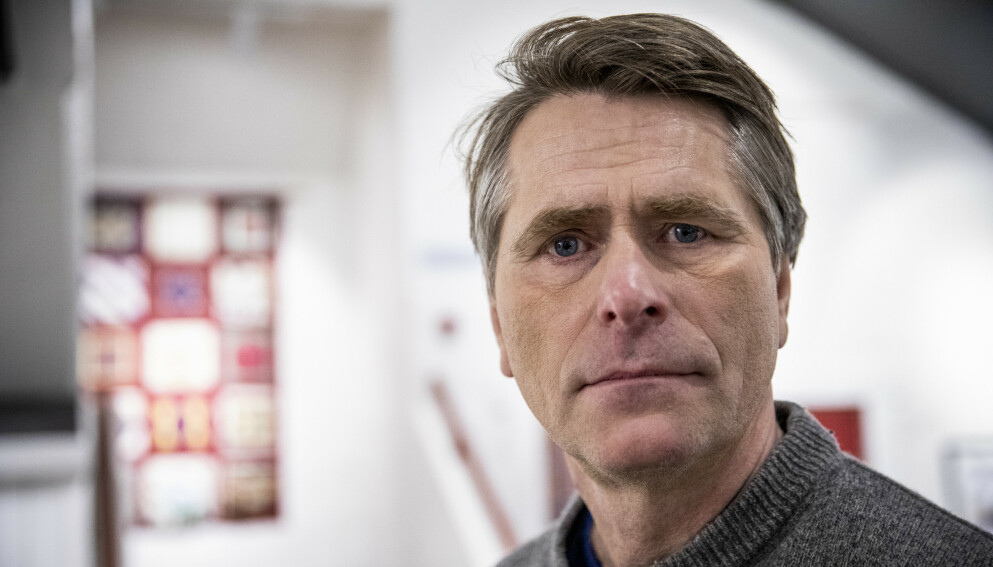 TUNG TID: Anders Østensen er ordfører i Gjerdrum kommune. I en måned har han stått med krisehåndteringa etter kvikkleireskredet 30. desember i fjor. Foto: Christian Roth Christensen / Dagbladet