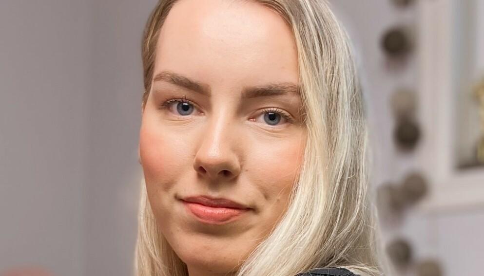 FLAUT: - Det er flaut, og de fleste av oss finner ikke ord, skriver Karoline Pedersen.
