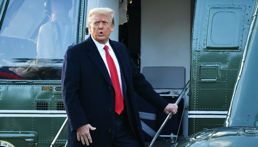RIKSRETT: 9. februar startet riksrettssaken mot tidligere president Donald Trump. Foto: Mandel Ngan / AFP / NTB