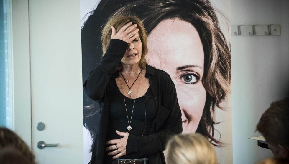 KRIMFORFATTER: Hanne Kristin Rohde er utdannet jurist ved Universitetet i Oslo, men sa opp jobben som leder for seksjon volds- og seksualforbrytelser i Oslo politidistrikt for sju år siden - og er i dag krimforfatter. Foto: Lars Eivind Bones