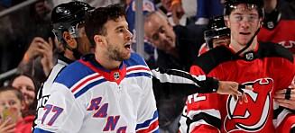 NHL-stjerne sparket etter slagsmål