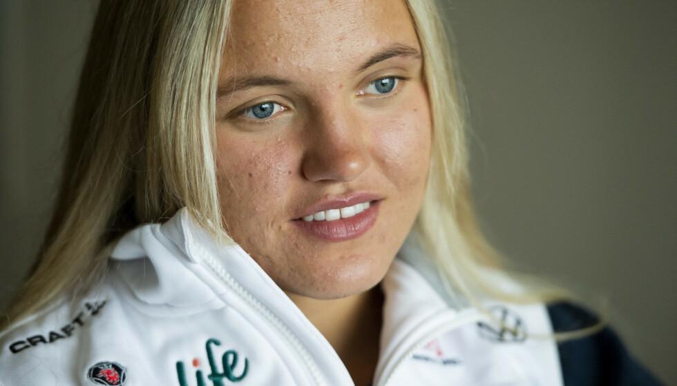 VIL MØTE JOHAUG: Linn Svahn håper Norge velger Therese Johaug som ankerkvinne i VM. Foto: Erik Mårtensson / TT / NTB