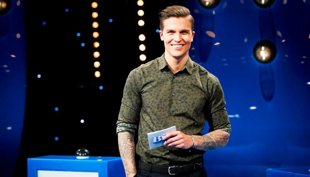 SJARMØR: En blid og talentfull kar, dette - med en helt ok og veldig typisk MGP-låt. Atle Pettersen er en garantert finalist, men ingen garantert og opplagt vinner. Alle foto: Julia Marie Naglestad/NRK