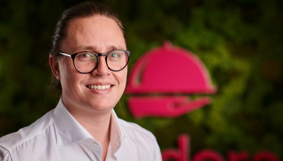 GODT RUSTET: Carl Randers i Foodora frykter ikke konkurransen fra Amoi og Posten. Foto: Foodora