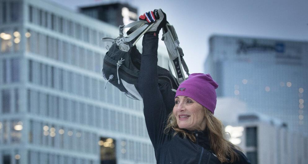 ARMTRENING: Trening er ferskvare og må opprettholdes. Idrettspedagog Christine Thune gir deg sine beste tips til hvordan du kan styrke armene dine. Foto: Bjørn Langsem