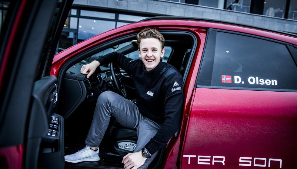 TALENT: Dennis Olsen kjører for Porsche i GT-klassen. Foto: Christian Roth Christensen / Dagbladet