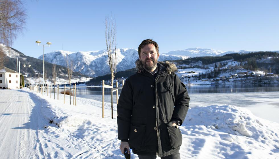 STENGT NED: Ordfører Hans Petter Thorbjørnsen i Ulvik kommune. Foto: Marit Hommedal / NTB