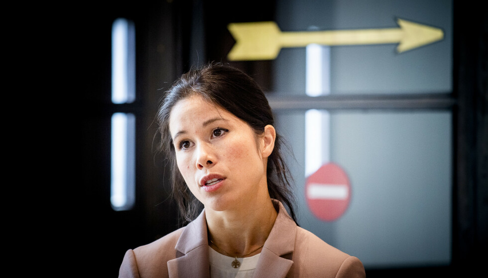 REAGERER: Lan Marie Berg håper å komme på Stortinget til høsten. Hun kaller Listhaugs utfall mot partiet desperat. Foto: Lars Eivind Bones / Dagbladet