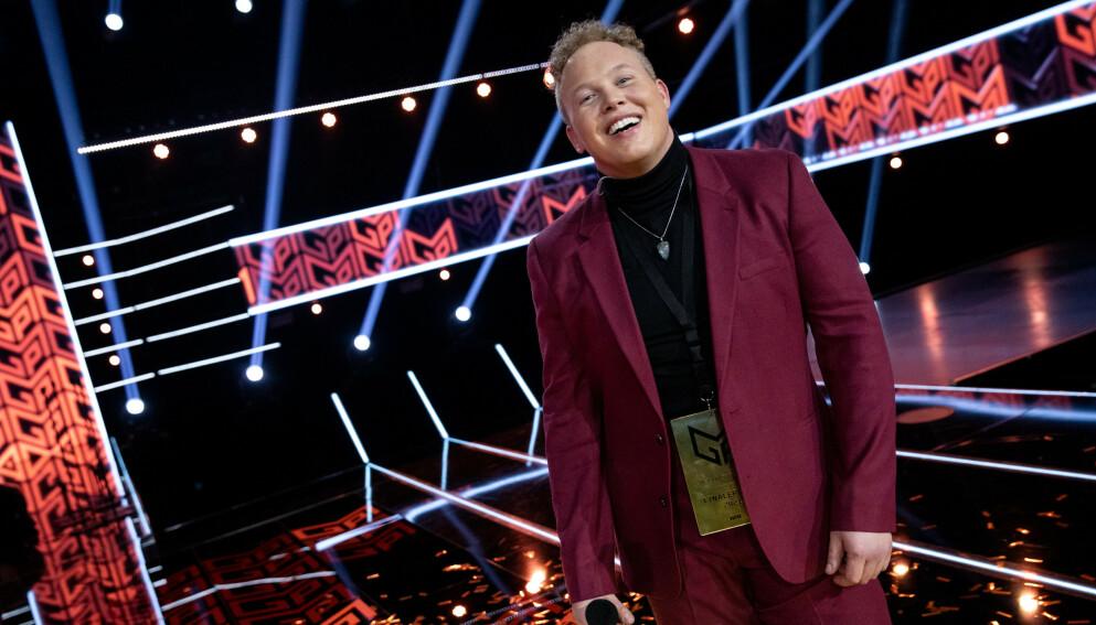TIL FINALEN: Kiim - Kim Rune Hagen - fikk gullbillett til finalen i Melodi Grand Prix om to uker. Alle foto: Julia Marie Naglestad / NRK