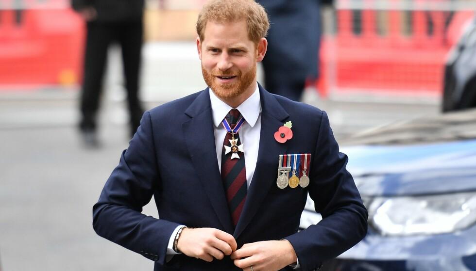 NY JOBB: Prins Harry kan glede seg over å ta fatt på nye arbeidsoppgaver framover. Foto: Daniel Leal-Olivas / AFP / NTB