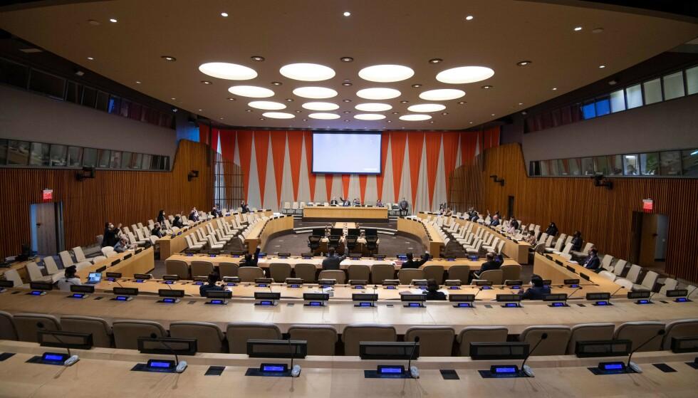 SIKKERHETSRÅDET: At Norge er en del av FNs SIkkerhetsråd øker trusselen mot nasjonen, ifølge PST. Eskinder DEBEBE / UNITED NATIONS / AFP / NTB
