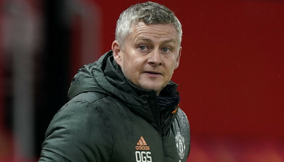 FORBEREDER STORKAMP: Ole Gunnar Solskjær og Manchester United tar imot Liverpool klokka 17.30. Foto: NTB
